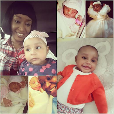 Actress Ashionye Raccah shares adorable photos of herself and kids