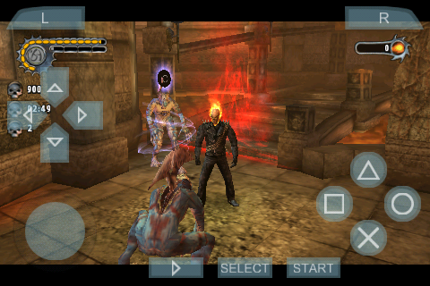 Game Ghost Rider PPSSPP Iso