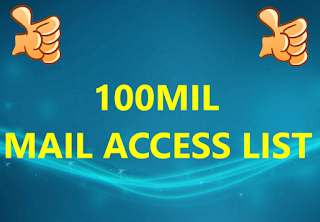 100MIL COMBO  MAIL ACCESS LIST
