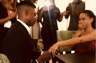 Comedian Ebiye & girlfriend