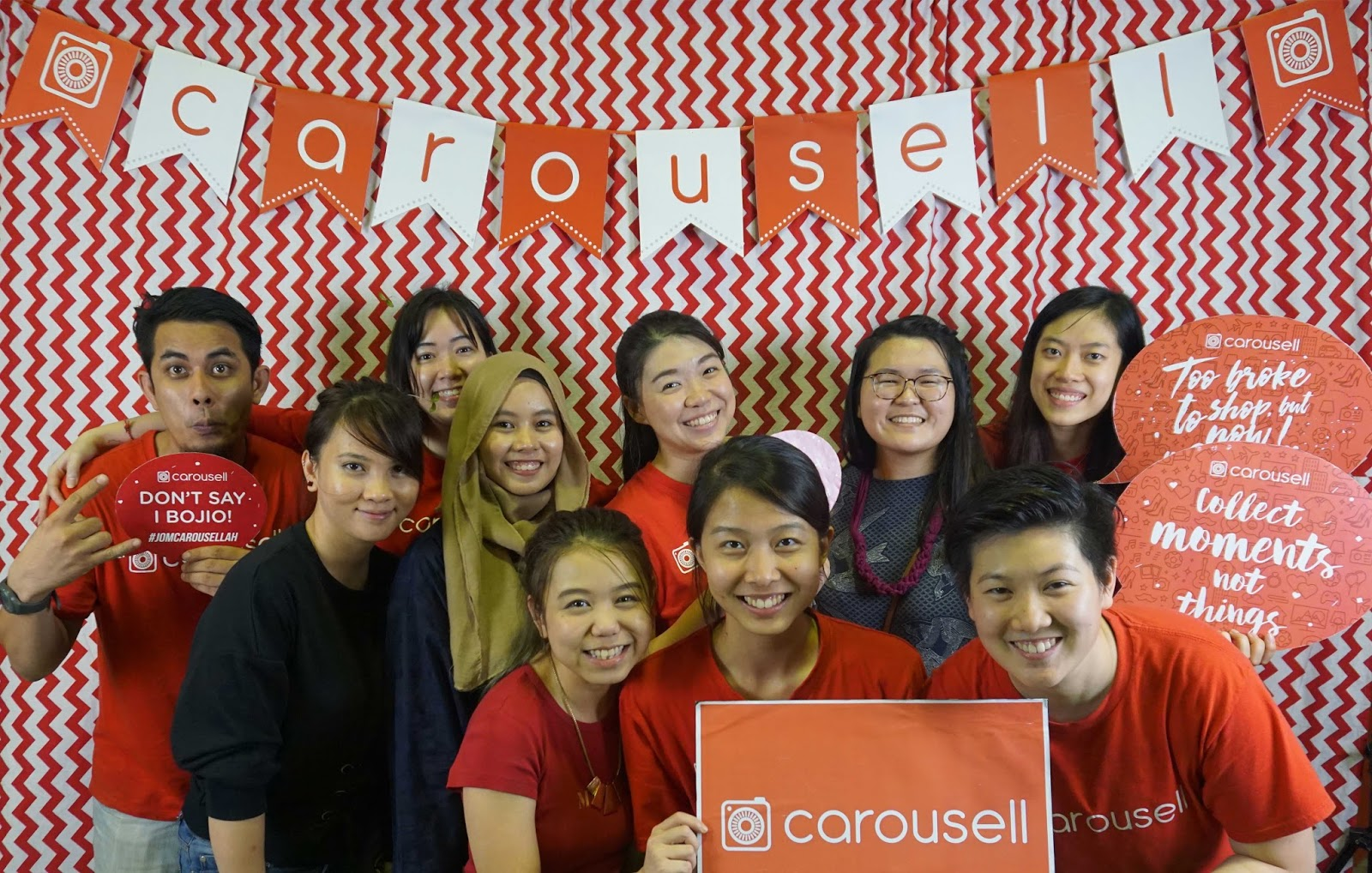 Carousell LIVE At Publika Guys!
