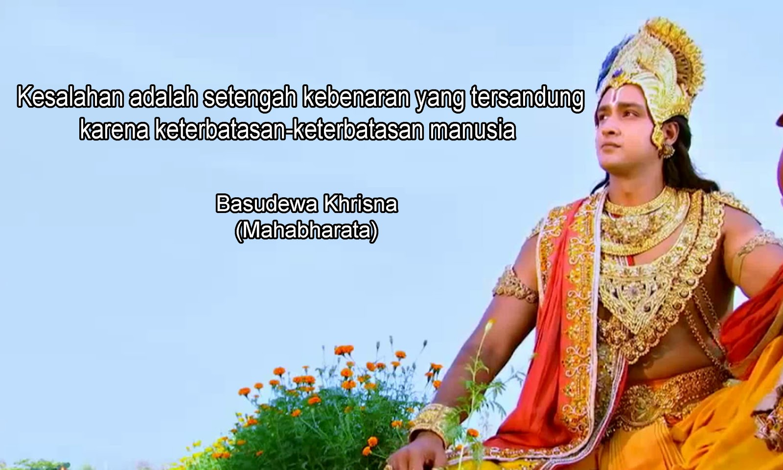 Kata Bijak Basudewa Khrisna Mahabharata