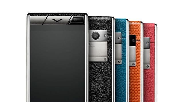 Smartphone Lujo Vertu