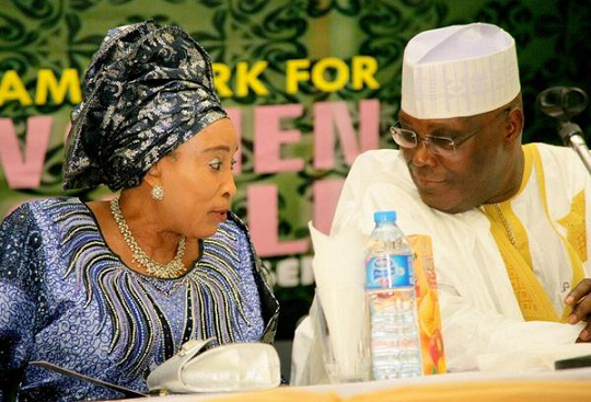 Image result for Atiku Abubakar's Wife