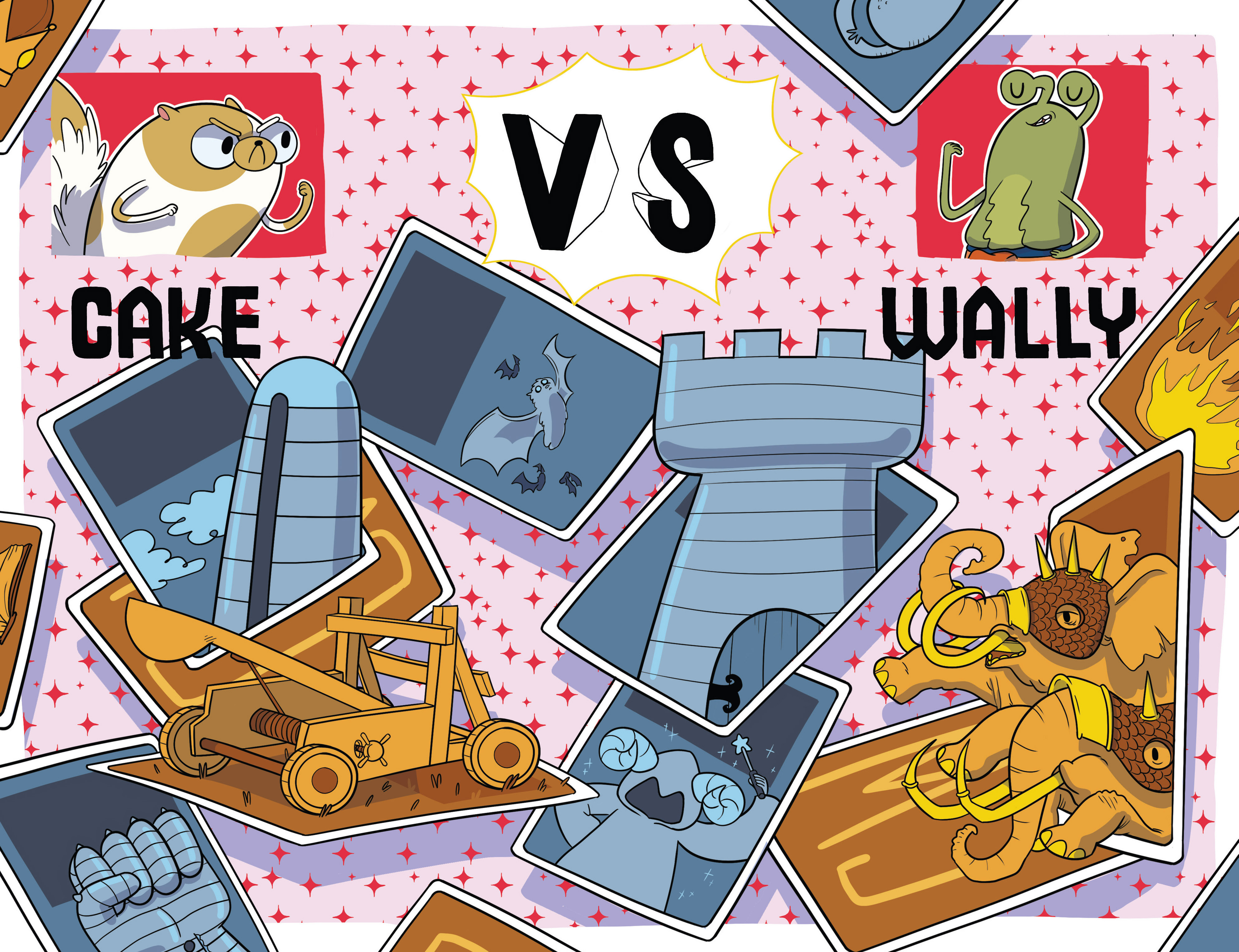 Read online Adventure Time Fionna and Cake Card Wars comic -  Issue #2 - 13