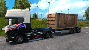 Rusted Container trailer mod