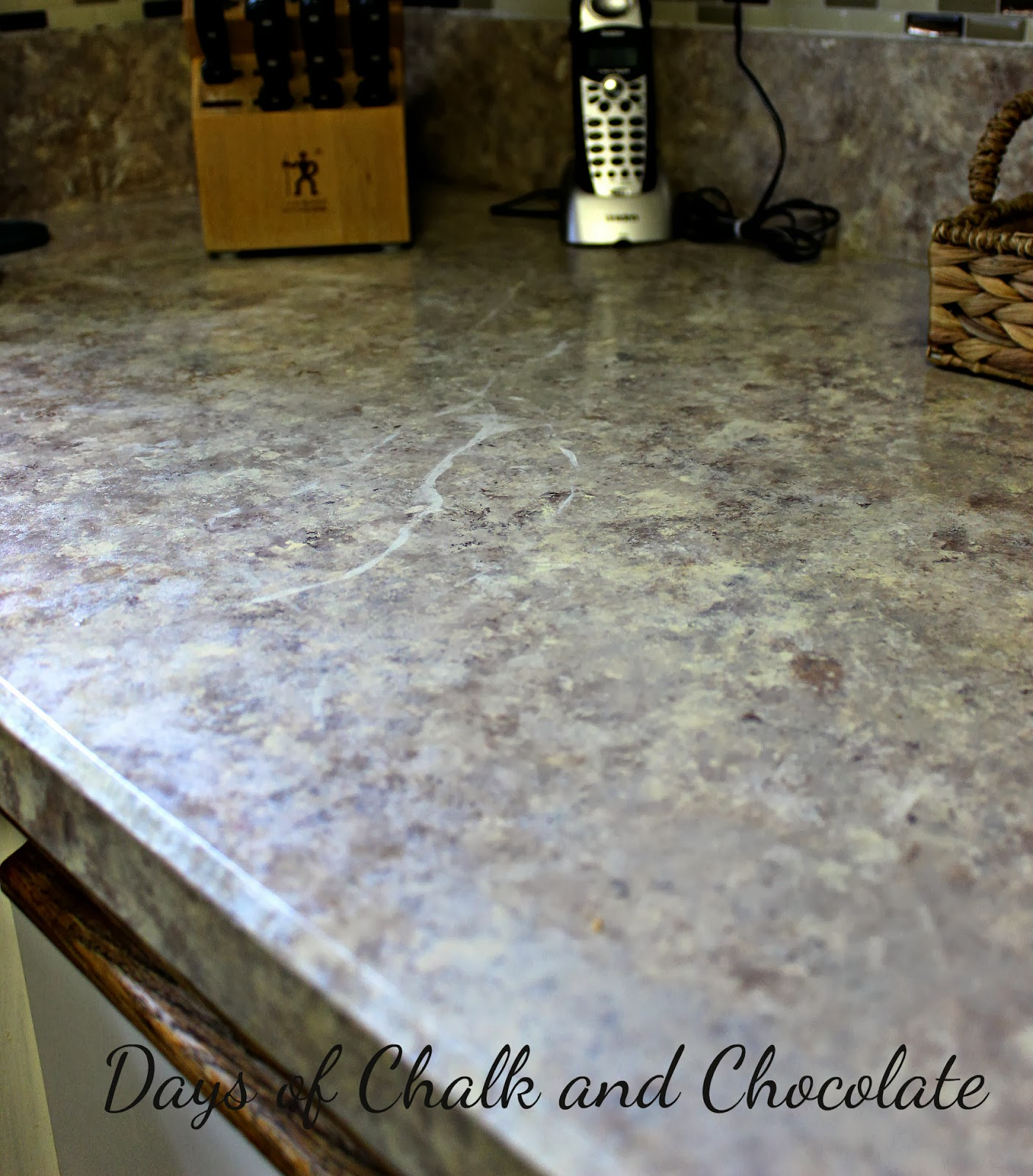 How To Paint Your Countertops Days Of Chalk And Chocolate