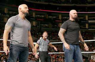 Luke Gallows and Karl Anderson Vs Enzo Amore And Big Cass Vs Cesaro And Sheamus Wrestlemania 33