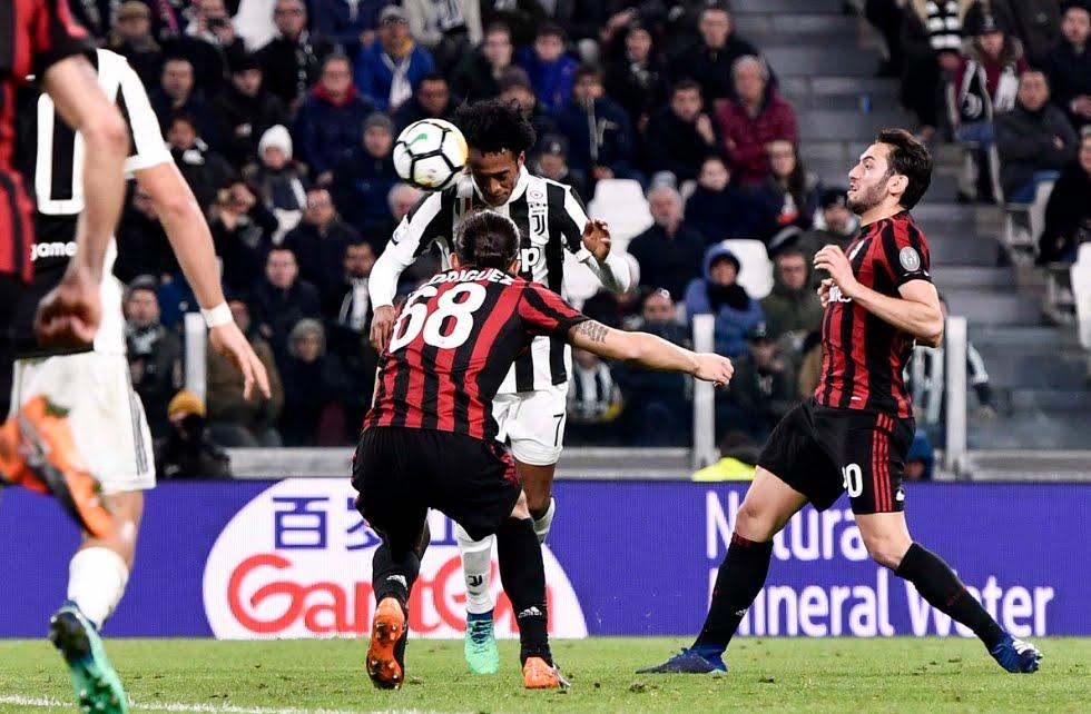 Juventus-Milan Streaming Gratis, come vederla: 3-1 gol di #Khedira #Cuadrado #Dybala