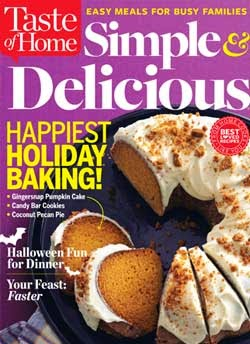 Taste of Home Simple & Delicious Oct/Nov 2014