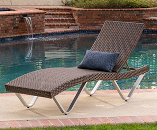 Manuela Outdoor Chaise Lounge Chair