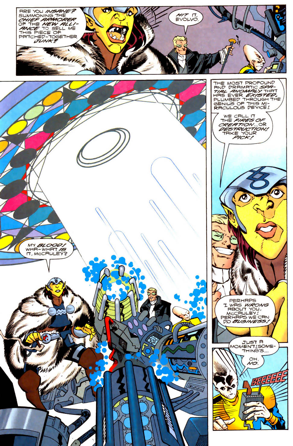 Legion of Super-Heroes (1989) 104 Page 9