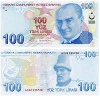 Türkish 100 Lira