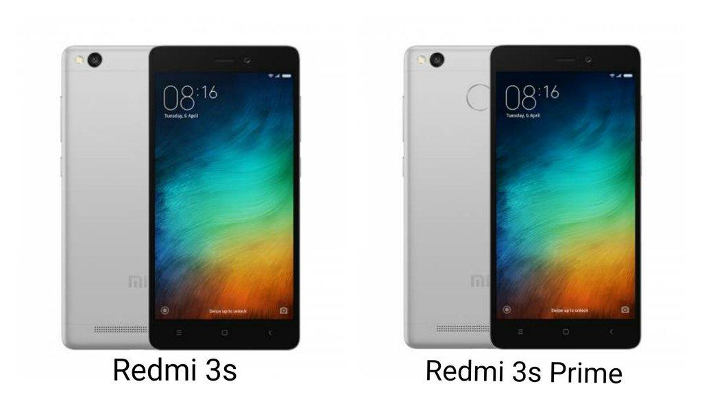Xiaomi Redmi 3s Vs Xiaomi Redmi 3s Prime What S The