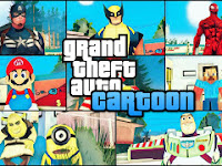 GTA SA Lite MOD Pack  Skin Cartoon APK Android Terbaru Download Gratis