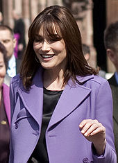 Carla Bruni had been one of the world's leading models