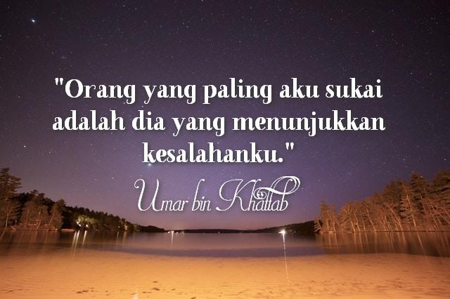 Kata Bijak Umar Bin Khattab Celoteh Bijak