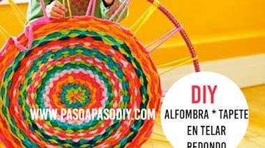 Alfombra * Tapete Reciclado / DIY
