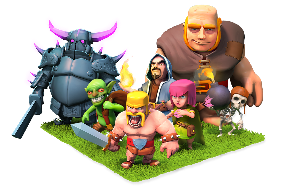 clash of clans tips: CLASH OF CLANS BARRACKS TROOPS