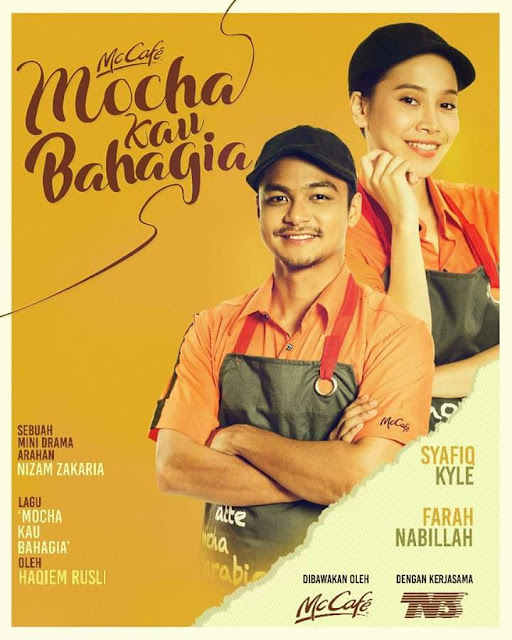 Sinopsis Drama Mocha Kau Bahagia Lakonan Farah Nabilah & Syafiq Kyle