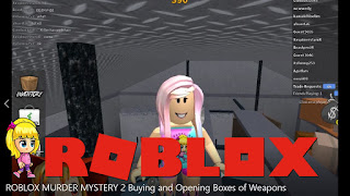 Roblox Murder Mystery 2 Gameplay - Buying and Opening Boxes of