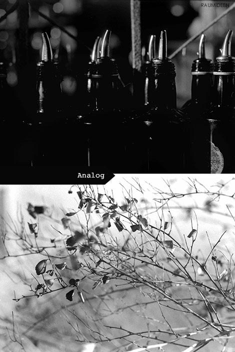 Analoge Fotografie.