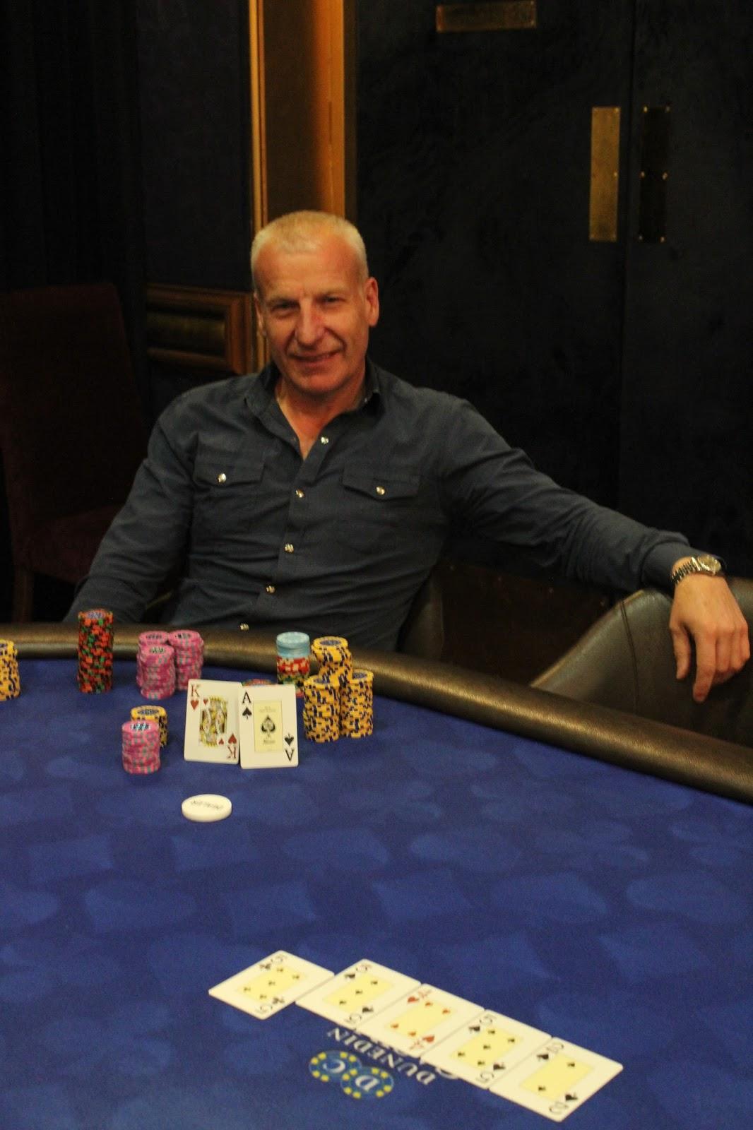 Dunedin Casino Texas Holdem freezeout depstack