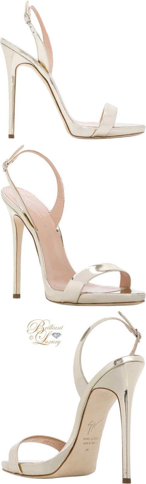 Brilliant Luxury ♦  Giuseppe Zanotti Sophie sandals