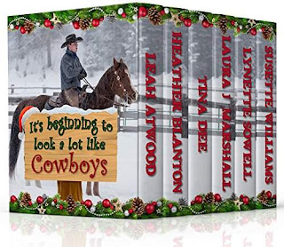 It's Beginning to Look A Lot Like Cowboys - Inspy Romance by Laura J. Marshall