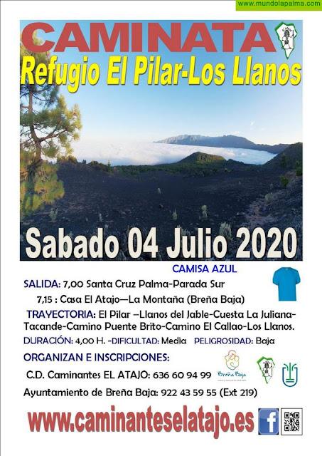 EL ATAJO: Del Pilar a Los LLanos por Tacande