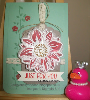 Stampin' Up! Independent Demonstrator Susan Merrey, Craftyduckdoodah! Floral Wings, Petal Potpourri,