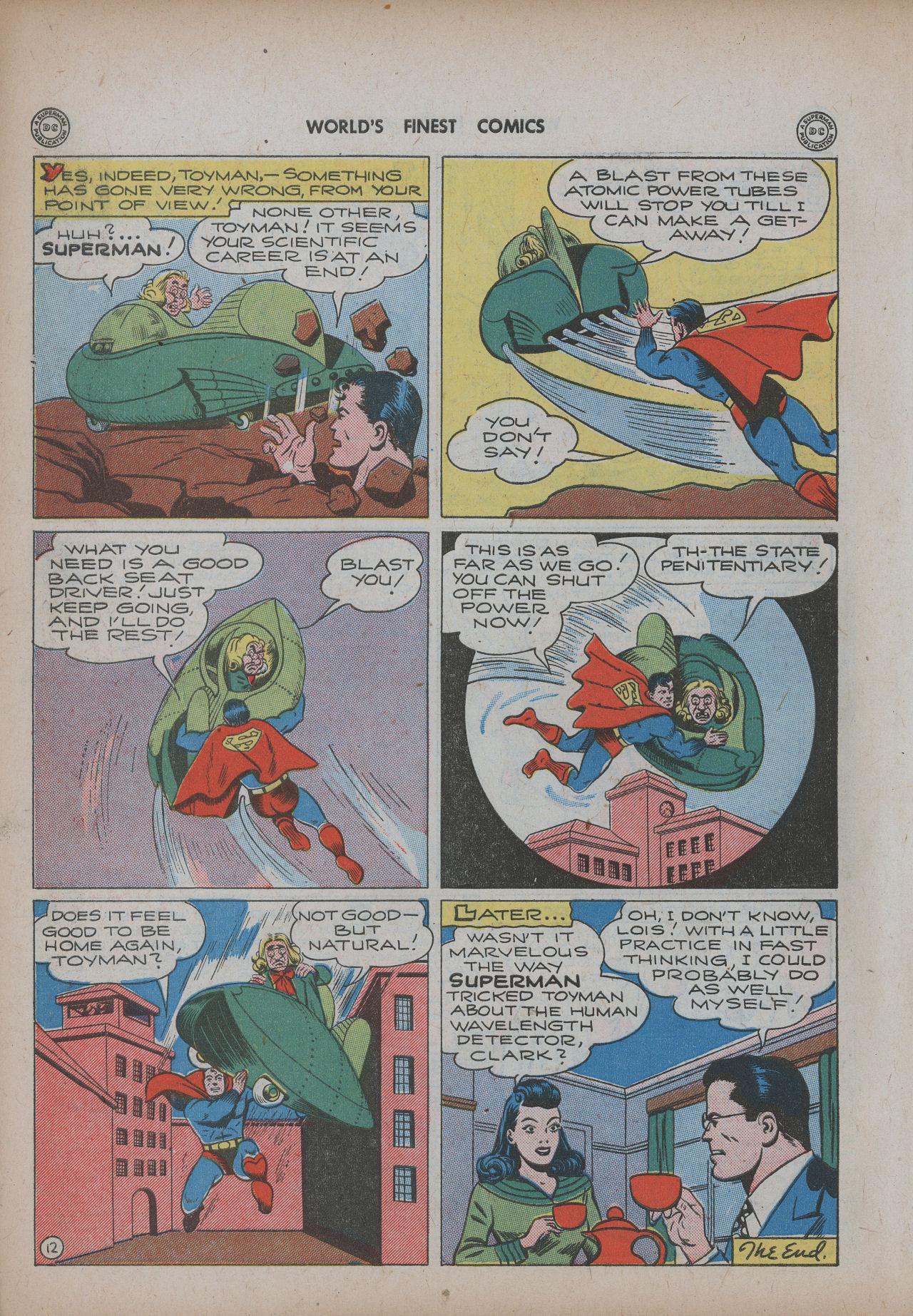 Read online World's Finest Comics comic -  Issue #20 - 14