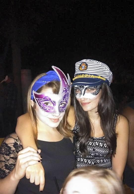 Venice masquerade Contiki