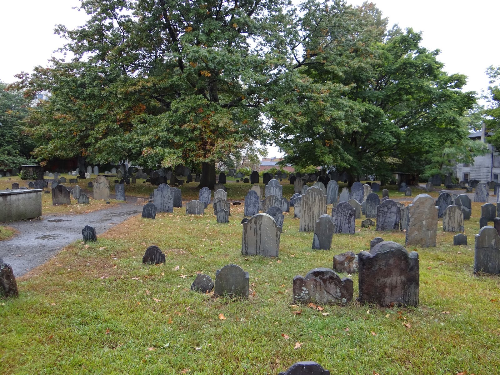 Old Burial Ground Salem Massachusetts