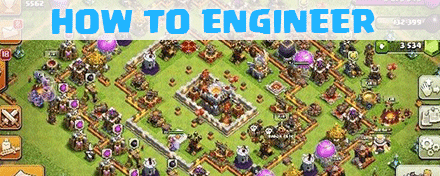 how to engineer your base in clash of clans