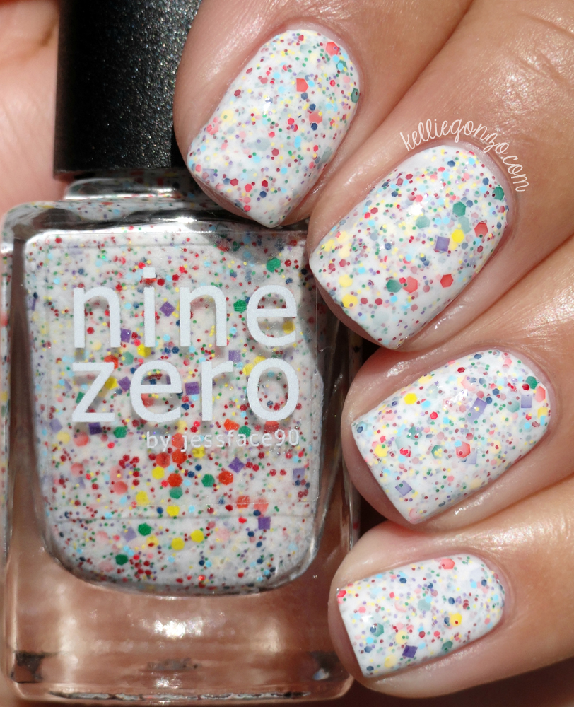 Nine Zero Lacquer Double Rainbow