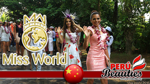 Orchid Expo in Sanya! - Miss World 2015