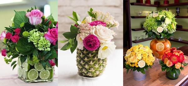 Ideias e Dicas para Bodas de Flores ou Frutas