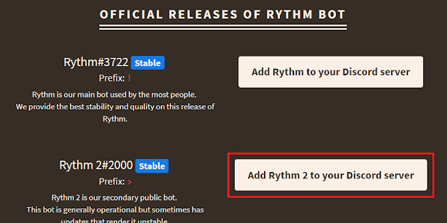 Wen's Note: Discord 教學- 如何簡單加音樂機器人進伺服器(Rythm)