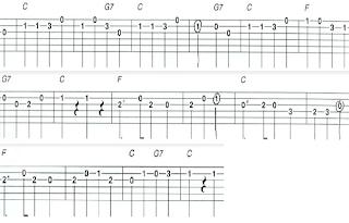 Yankee Doodle tablatura y acordes de guitarra