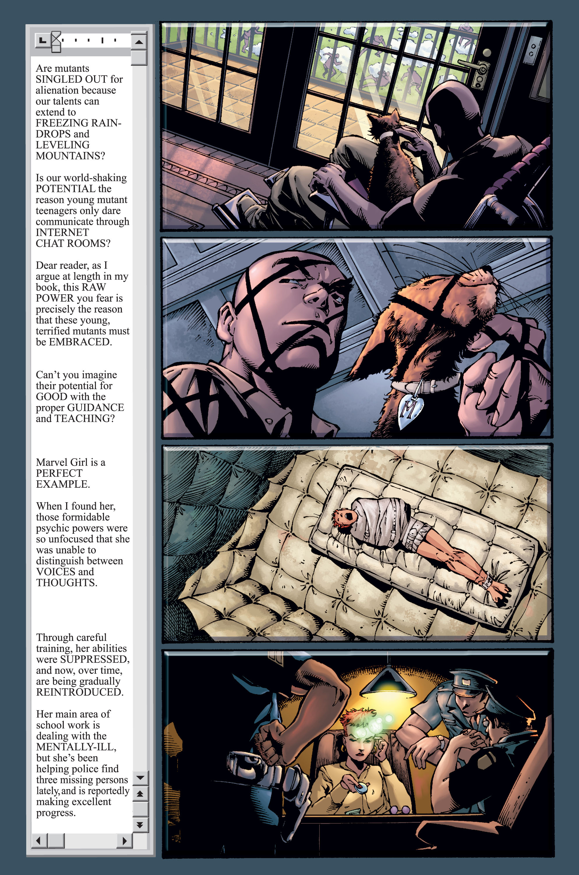 Read online Ultimate X-Men comic -  Issue #15 - 8
