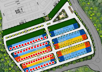 Pembangunan tahap 1 dan 2 dari Siranda View