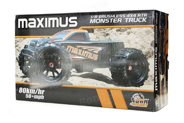 DHK 8382 Maximus 18 120A 85KMH 4WD Brushless Monster Truck RC Car
