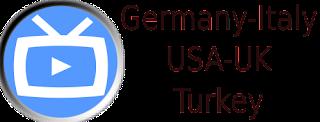 SKY UK ITV Premium Germany KIKA USA Italy Turkey