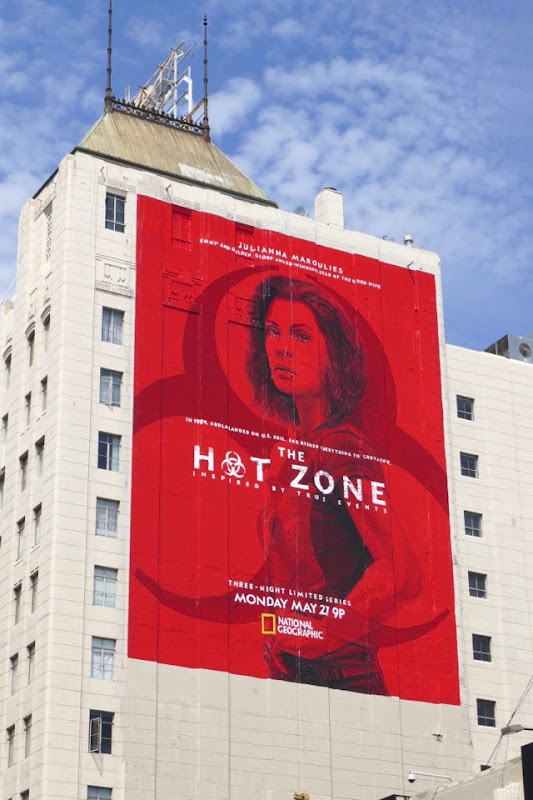 Hot Zone series premiere billboard