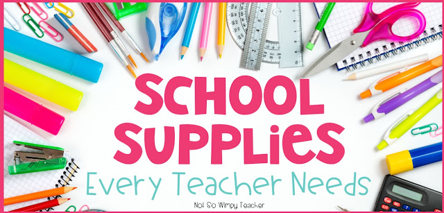 What supplies does a new teacher need for her classroom? What would be a good gift for a student teacher or a new teacher graduate?
