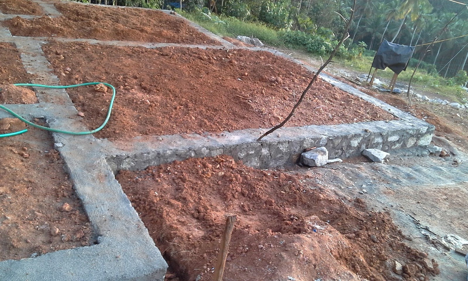 Kerala house construction tips 3 basement for Basement foundation construction