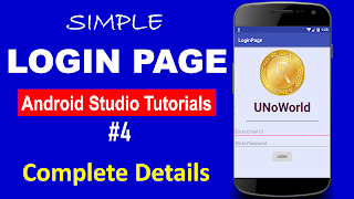 How To Create A Simple Login Form In Android Studio Through Email And Password