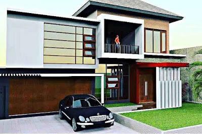 Konsep Model dan Desain Rumah Minimalis 2 Lantai Asri