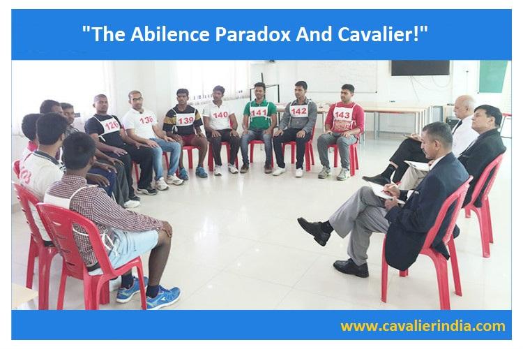 "THE ABILENE PARADOX AND CAVALIER!"" | Cavalier India - India's No.1 ..."